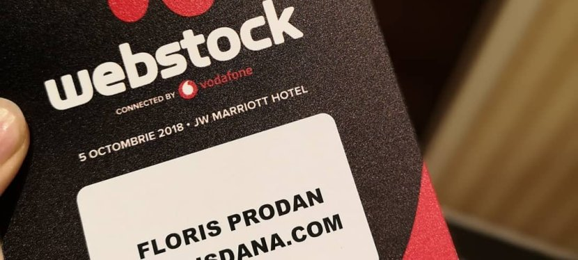 Cum a fost la Webstock2018